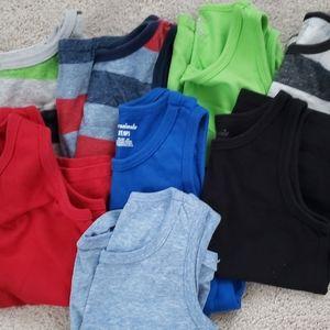 Lot of 3t Boys sleeveless shirts